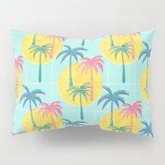 Retro Palms Pillow Sham