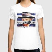 van T-shirts featuring Van Eastwood by Luigi Tarini