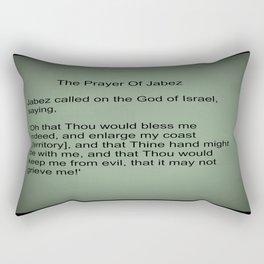 The Prayer of Jabez Rectangular Pillow