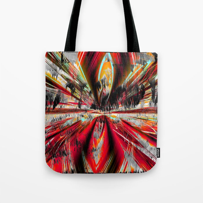 stormy weather in autumn Tote Bag