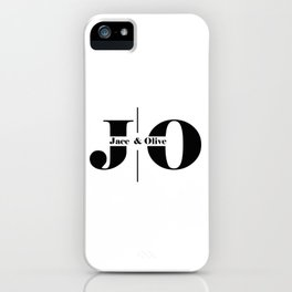Jace and Olive Logo iPhone Case