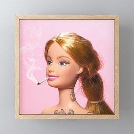 Doll Grown Up Framed Mini Art Print