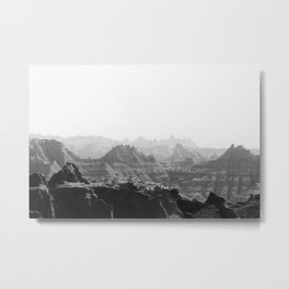 badlands II Metal Print
