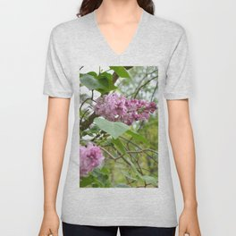 """""""Country Romance"""" Floral Photography, Nature Print Unisex V-Neck"""