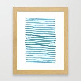 Waaaaves Framed Art Print