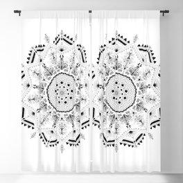Star Mandala Blackout Curtain