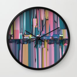 Abstract Composition 638 Wall Clock