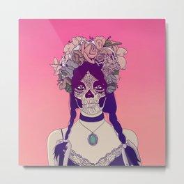 Lady Fy Metal Print