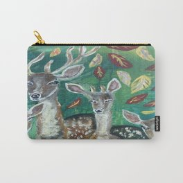 stag and his familly Carry-All Pouch