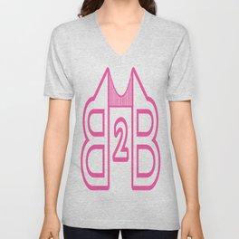 B2B Pink Unisex V-Neck