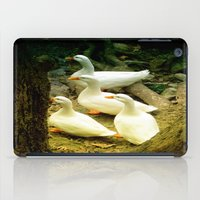 duck iPad Cases featuring duck by gzm_guvenc