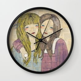 I'll Be There With Bells On Wall Clock