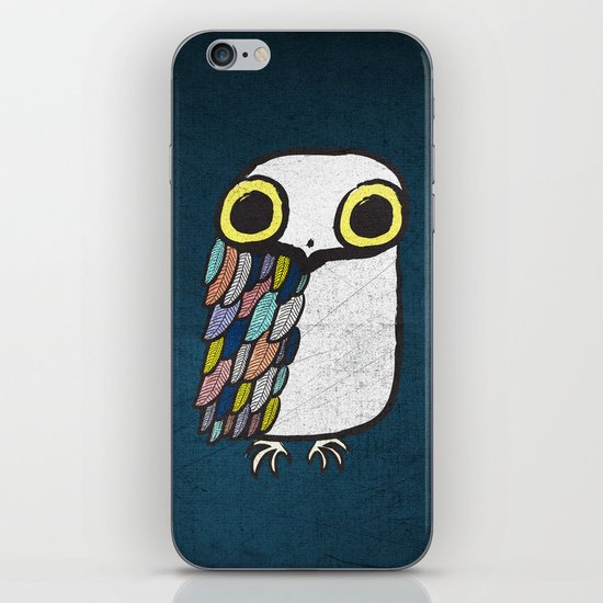 Wise Little Owl iPhone & iPod Skin