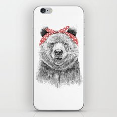 Break the rules (without text) iPhone & iPod Skin