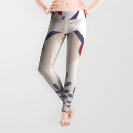 Swedish Christmas 3 Leggings
