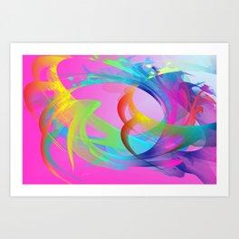 Power and positive energy, 26 Art Print