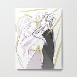 Elizabeth Debicki II Metal Print
