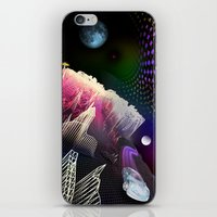 hologram iPhone & iPod Skins featuring Moonlight Drive by Antonio Jader