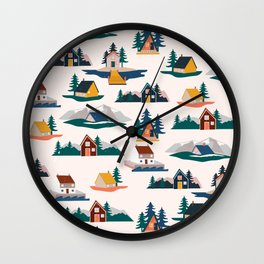 Let's stay here Wall Clock