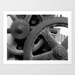 Big Gears Art Print