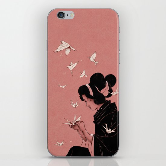 Becoming the Birds iPhone & iPod Skin
