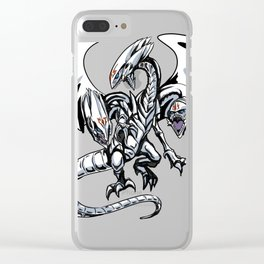 Blue-Eyes Ultimate Draon Clear iPhone Case
