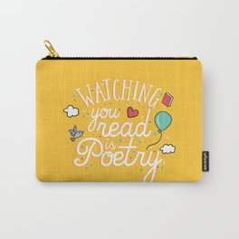 Watching you read is poetry Carry-All Pouch