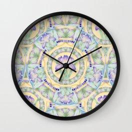 Nouveau Iris Wall Clock