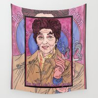 dot Wall Tapestries featuring Dot by Easties Across the Pond