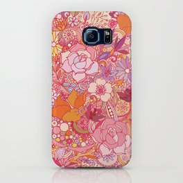 Detailed summer floral pattern iPhone Case