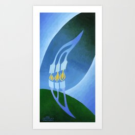 BNC#1990-023 Art Print