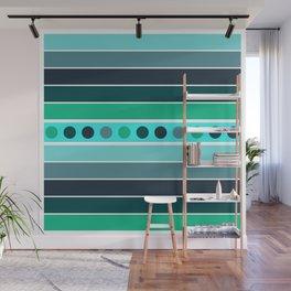 Aqua Dreams Wall Mural
