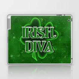 Irish Diva - St Patrick's Day Shamrock Laptop & iPad Skin