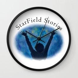 StarField Stories Wall Clock
