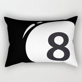 8 ball Rectangular Pillow