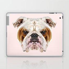 English Bulldog // Pastel Pink Laptop & iPad Skin