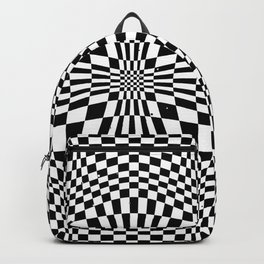 Checkered moire VIII Backpack