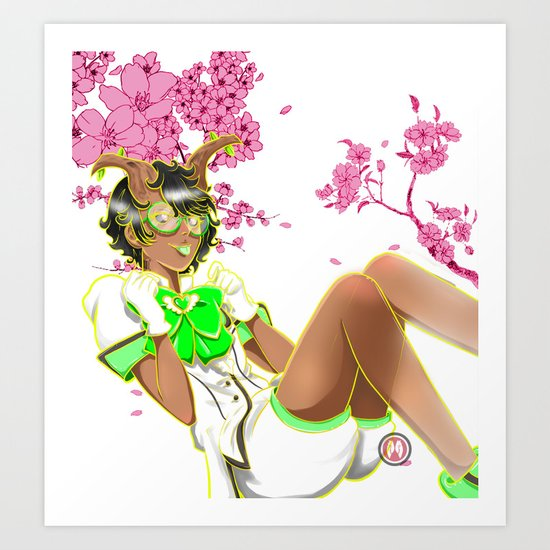 Wood Fairy Art Print