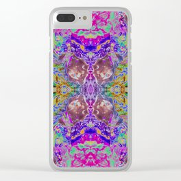 Bejeweled Tiger Clear iPhone Case