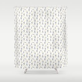 Hungry Mice  Shower Curtain
