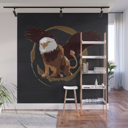 Griffin Shield Wall Mural