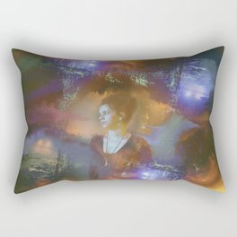 Hope in the Madness Rectangular Pillow