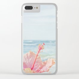 The Blue Dawn Clear iPhone Case