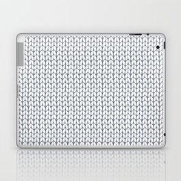 Knitted pattern. Laptop & iPad Skin