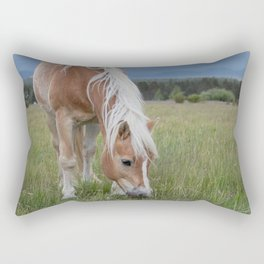 Blonde Beauty Rectangular Pillow