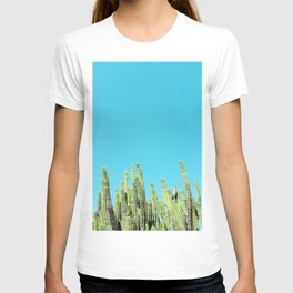 Desert Cactus Reaching for the Blue Sky T-shirt