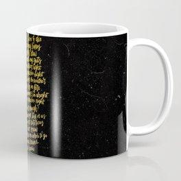 Perfect Places (Gold) Coffee Mug