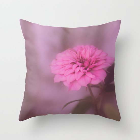 Flower Throw Pillow