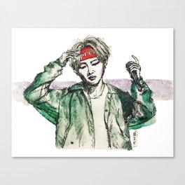 BTS V (2) Canvas Print