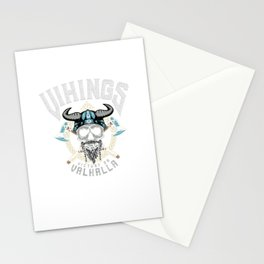 Vikings Victory Or Valhalla Stationery Cards